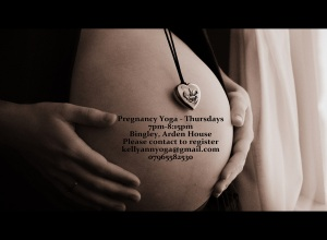 Pregnancy Yoga in West Yorkshire